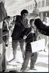 162-28-0560270001RC (Jan van Raay) Tags: newyork protest moma museumofmodernart civilrights awc gaag jonhendricks jeantoche guerrillaartactiongroup artworkerscoalition ralphortiz