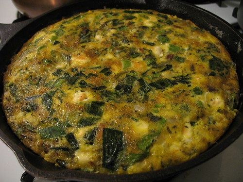 golden frittata