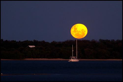 Luna llena en Queensland