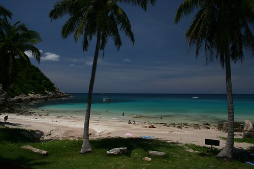 Ao Leuk - a tropical paradise on Koh Tao...