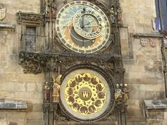 Astronomical Clock in Prague's Old Town Square (Axel-D) Tags: architecture czech prague praha unesco explore czechrepublic oldtownsquare axeld