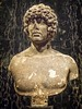 Portrait thought to be of Antinous, lover of the Roman emperor Hadrian from Italy Roman 140-150 CE Marble (mharrsch) Tags: youth male antinous lover roman portrait bust sculpture 2ndcenturyce ancient marble italy nelsonatkins museum kansascity missouri mharrsch