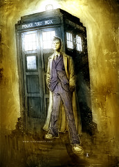0photo117 (Ben Templesmith) Tags: who doctor tennant templesmith