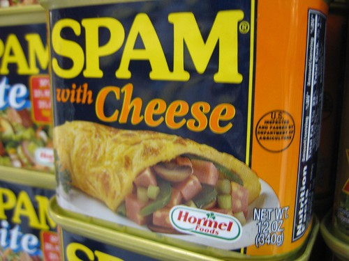 Spam with cheese