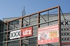 XXX Lutz (austrianpsycho) Tags: building sign linz logo schild xxx gebäude plakat lutz europaplatz möbelhaus xxxlutz markenshow