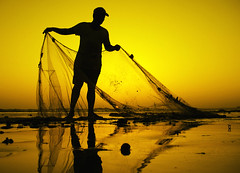 netting the Gold (!!sahrizvi!!) Tags: ocean pakistan sunset sea sun sunlight reflection net beach nature water beautiful silhouette yellow canon gold golden fishing fisherman sand bravo fishermen outdoor dusk manatwork silhouettes powershot shore backlit karachi cotc eyeofthebeholder ruleofthirds seawater rizvi beautifulearth magicdonkey sahrizvi sarizvi perfectangle a640 mywinnerstrophy anawesomeshot colorphotoaward impressedbeauty superaplus aplusphoto flickrplatinum wowiekazowie diamondclassphotographer megashot superhearts diamondphotograph cotcbestof2007 thebestyellow exploreheaven