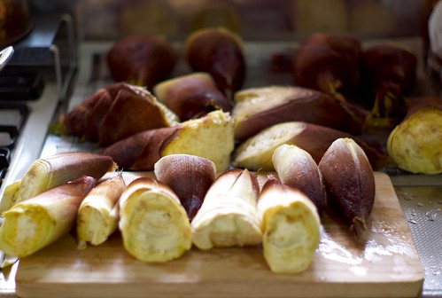 Thanks to Joi from Flickr for this fabulous picture of bamboo shoots on the board