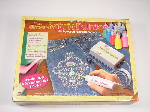 Fabric painter kit from craft store