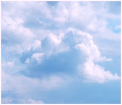 chmurka  / cloudy (crazy.morgana) Tags: blue sky cloud nikon fluffy poland april 2007 silesia lsk cwd d80 chmurka uppersilesia crazymorgana cwd142 cwdweek14