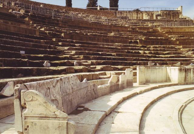 roman theater, italica