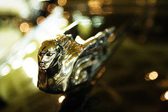 (aprevite) Tags: old car museum silver dark shiny 1740mm hoodornament classy vroom westernreserve aprevit