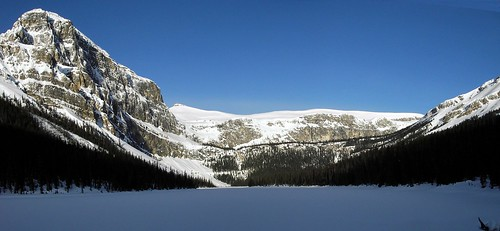 Luellen Lake headwall
