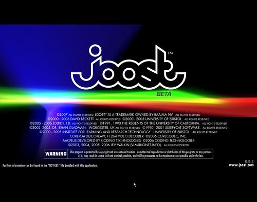 Logotipo de Joost