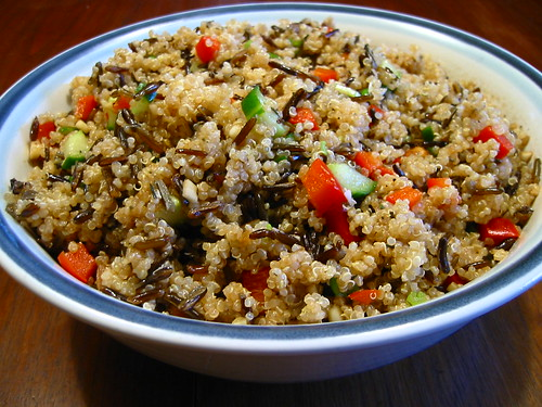 Quinoa and Wild Rice Salad