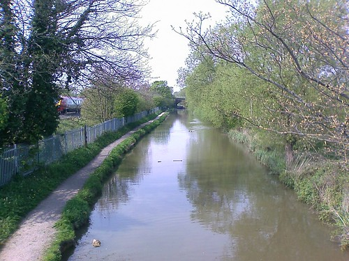 The Oxford canal at Wolvercote