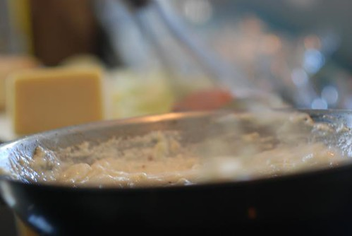 Whisking a roux by Cookthink