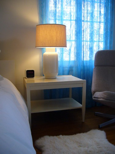 $140 Solid Wood Side Table (2)
