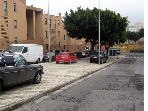 estacionamiento...