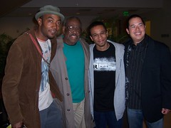 Keith Knight, Morrie Turner, Aaron McGruder and Jeff Chang