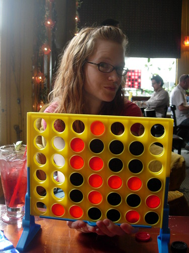 Sara, My Opponant, and The Board