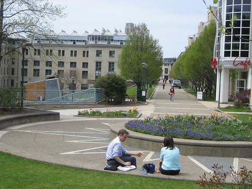 CMU seating