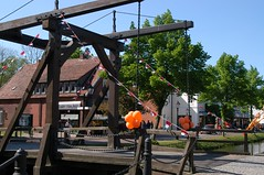 decoration for Queens Day (National holiday in the Netherlands).