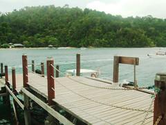 Pulau Sapi Dock