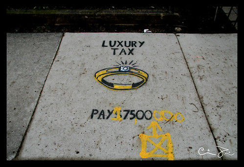 Luxury tax Increase