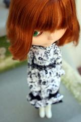 Little Miss Sunshine (Inoue_Orihime) Tags: cute toy japanese doll body redhead kawaii blythe takara licca bl kozy kozycape kozykape