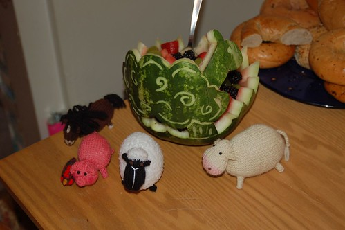 Sheep watermelon