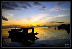 Sundown at Molas Beach