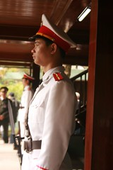 Guard at Presidential Residence