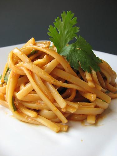 Citrus Peanut Noodles
