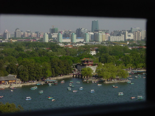lago + ciudad