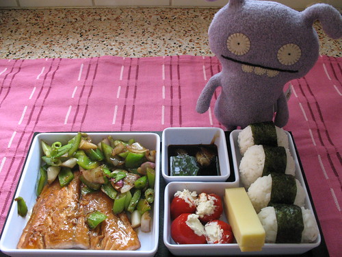 (sort of a) Bento Box Dinner :)