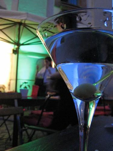 Husbear finally gets a martini