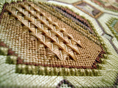 Embroidery in Progress 4/5 (zaferina) Tags: needlework stitch embroidery sewing needlepoint portra tapestry