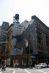 NYC - East Village: 4th Ave & E 13th - Bright Eyes Ad