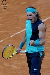I win! (gongolo) Tags: italy rome roma italia atp tennis racquet rafaelnadal nikolaydavydenko internazionalibnlditalia