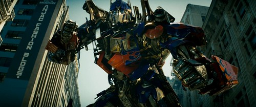 Transformers pelicula Optimus Prime