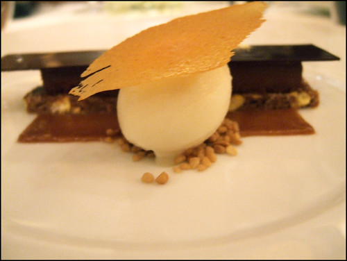 Le Bernardin (New York) - Chocolate Ganache & Sweet Corn in 3 Textures