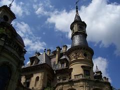Meseország / Wonderland (ssshiny) Tags: tower castle hungary torony ég tura magyarország 230countrieshungary kastély schlossbergerkastély schlossbergercastle