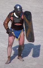 Provocator (Sebasti Giralt) Tags: roman juegos games romano amphitheater gladiator gladiators anfiteatro jocs gladiadores rom ludi gladiador amfiteatre tarracoviva arsdimicandi gladiadors provocator