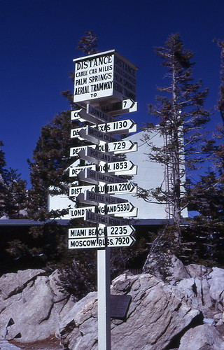 Palm Springs Aerial Tramway 1966