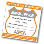 ASPCA Pet Sticker
