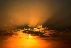 SunDown (z) Tags: pakistan sunset nature clouds interestingness sundown lahore explored