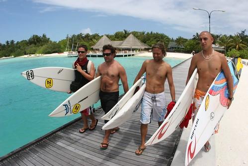 Surfing en Maldivas