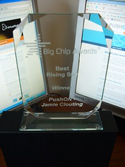 Jamie's Big Chip Award last year