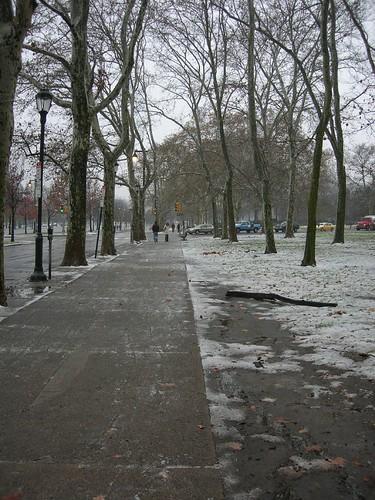 在費城的第三天,下起了大雪!