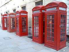 Red London Phone Boxes